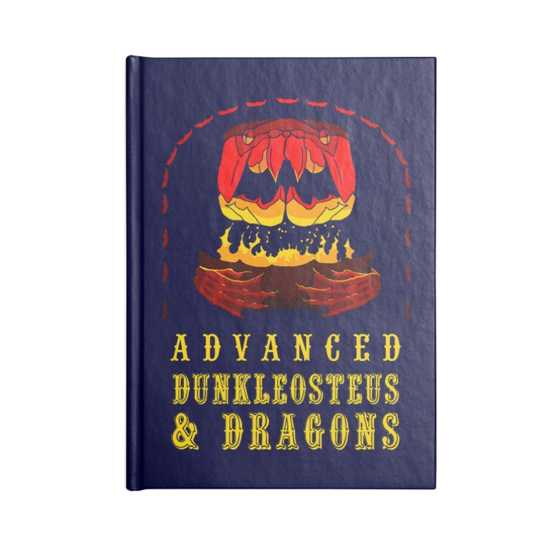 Advanced Dunkleosteus & Dragons Accessories Notebook by cubelight's Artist Shop