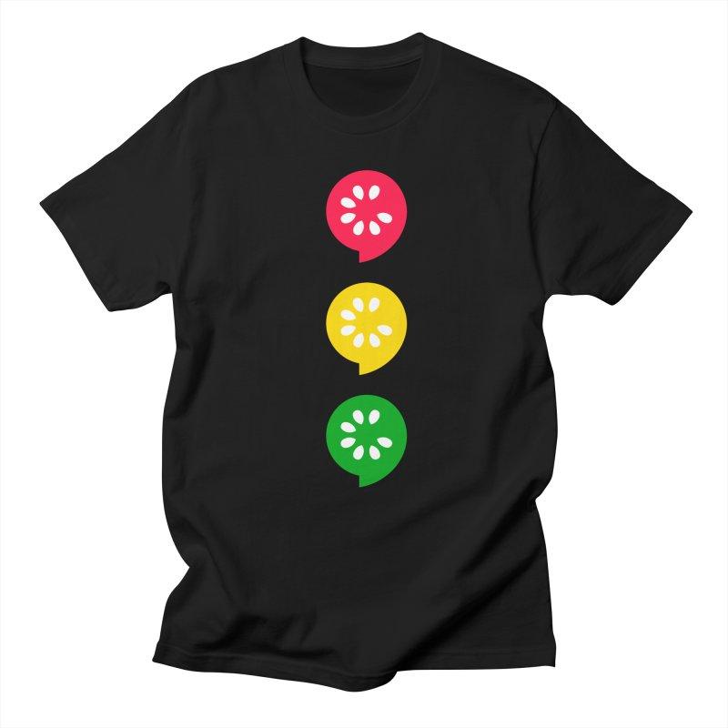 Traffic Light Men's Regular T-Shirt by The Cucumber Swag Shop