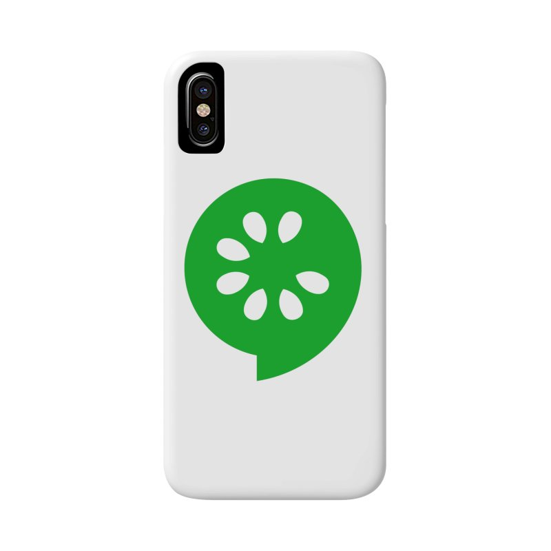 Green Slice Accessories Phone Case by The Cucumber Swag Shop