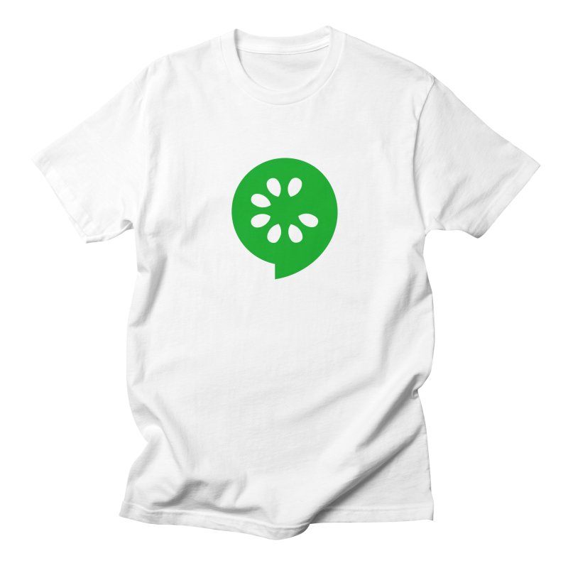 Green Slice Men's T-Shirt by The Cucumber Swag Shop