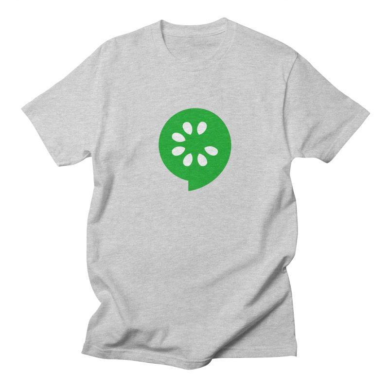 Green Slice Men's Regular T-Shirt by The Cucumber Swag Shop