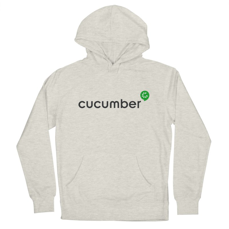 Classic Cucumber Logo Men's French Terry Pullover Hoody by The Cucumber Swag Shop