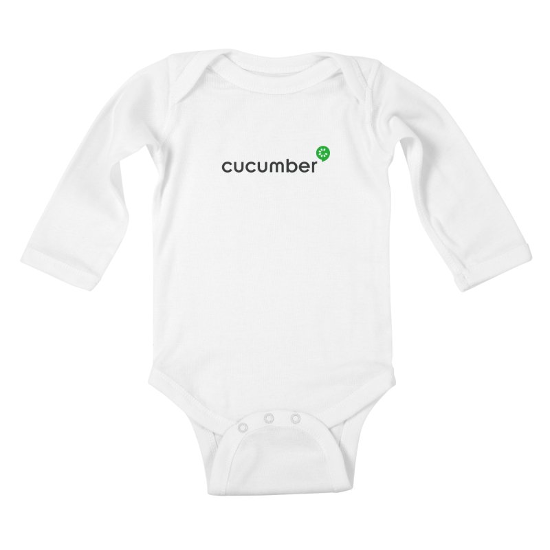 Classic Cucumber Logo Kids Baby Longsleeve Bodysuit by The Cucumber Swag Shop