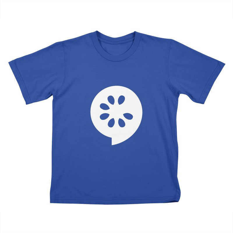 White Slice Kids T-Shirt by The Cucumber Swag Shop