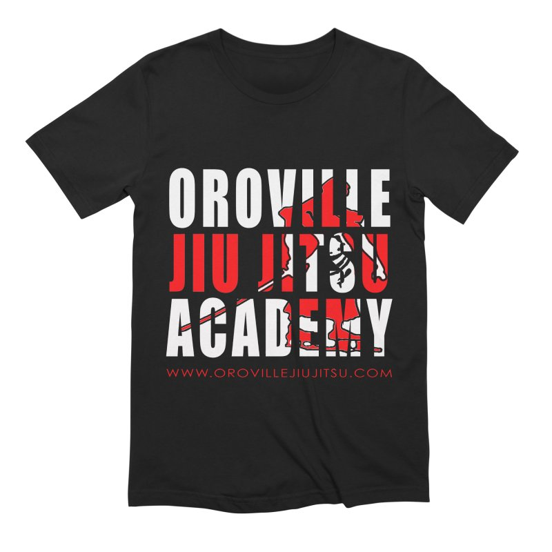 Oroville Jiu Jitsu Academy Shwag Men's T-Shirt by The CULTIVATE POWER Shop