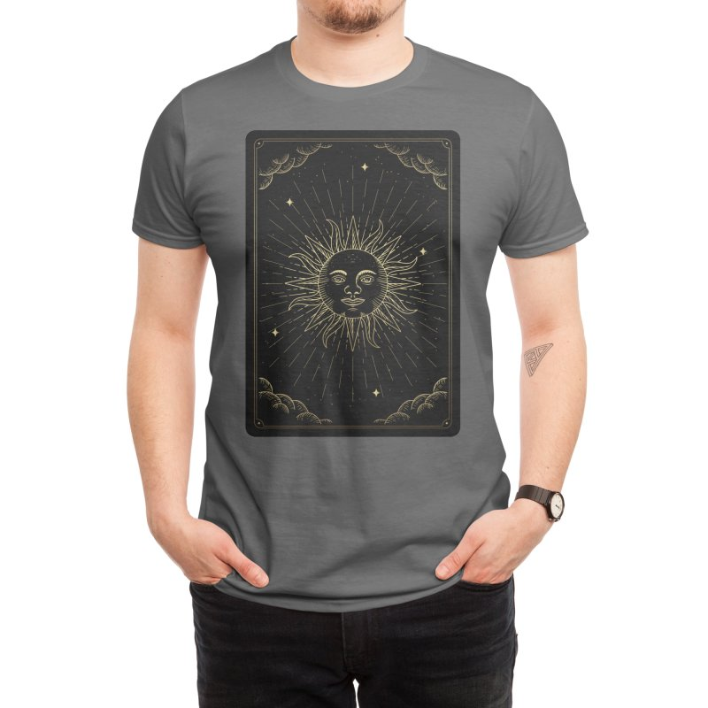 """Sun Tarot Men's T-Shirt by """"Anthology"""" by Culture Cafe Studio"""