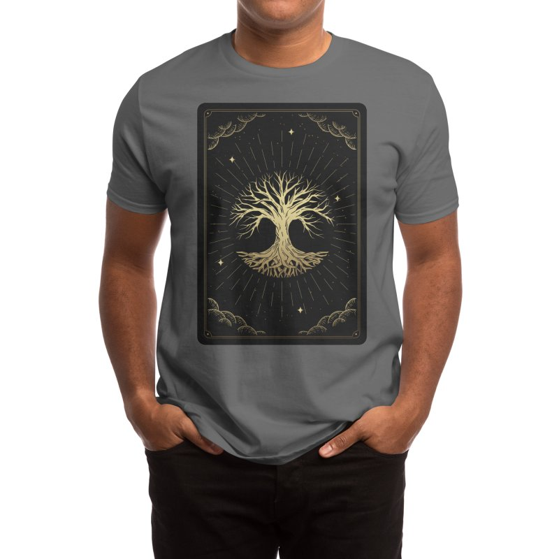 "Tree Tarot Men's T-Shirt by ""Anthology"" by Culture Cafe Studio"