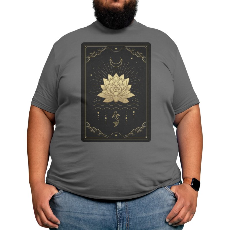 """Lotus Gold Tarot Men's T-Shirt by """"Anthology"""" by Culture Cafe Studio"""