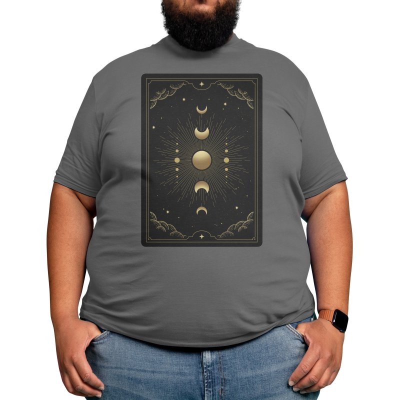"Moon Phase Tarot Men's T-Shirt by ""Anthology"" by Culture Cafe Studio"