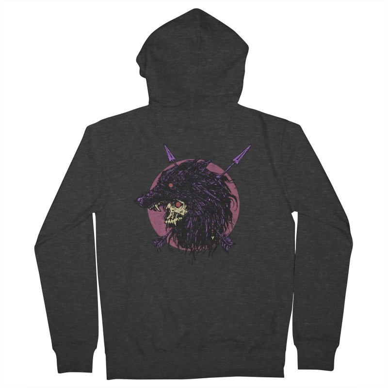 Howl Men's French Terry Zip-Up Hoody by Cumix47's Artist Shop