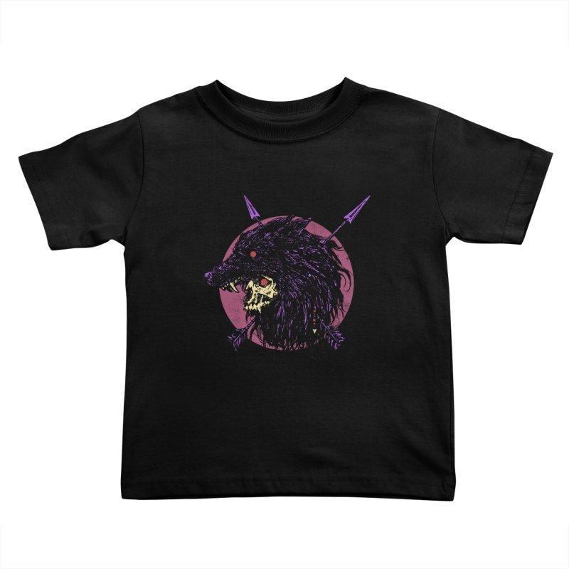 Howl Kids Toddler T-Shirt by Cumix47's Artist Shop