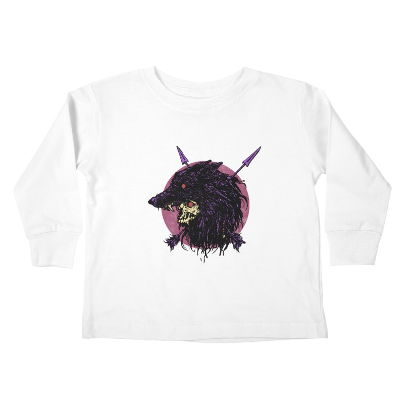 Howl Kids Toddler Longsleeve T-Shirt by Cumix47's Artist Shop
