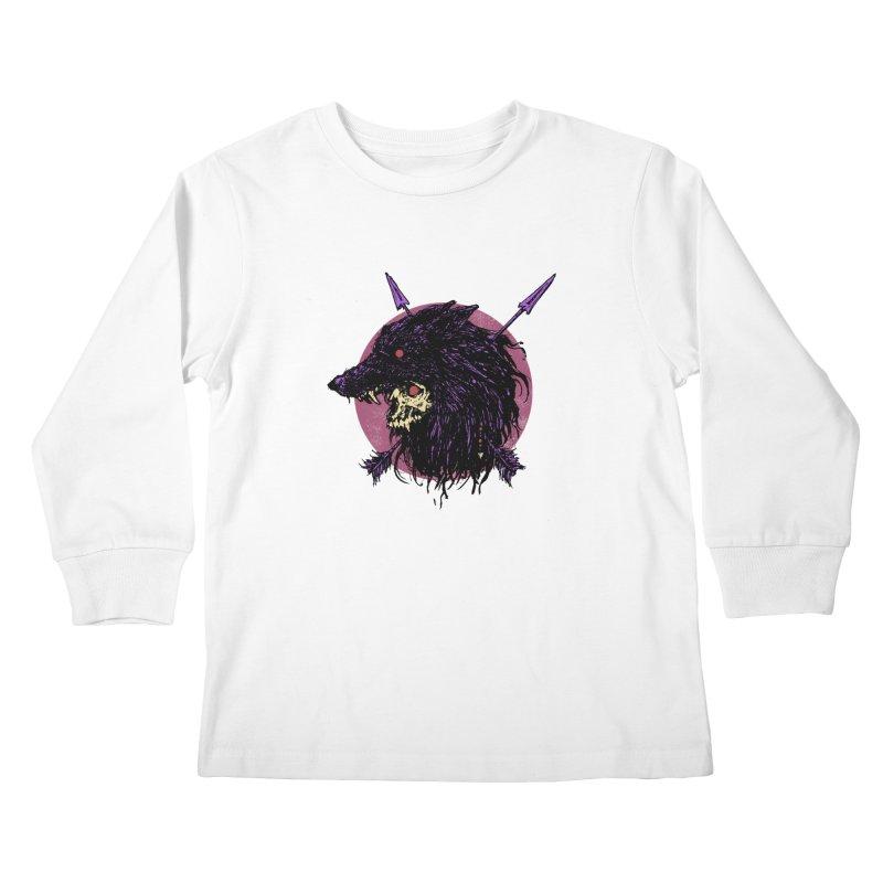 Howl Kids Longsleeve T-Shirt by Cumix47's Artist Shop