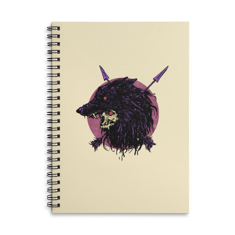 Howl Accessories Lined Spiral Notebook by Cumix47's Artist Shop