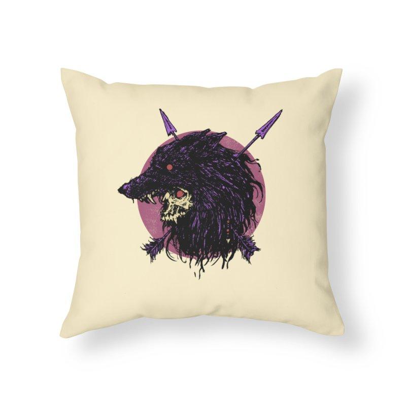 Howl Home Throw Pillow by Cumix47's Artist Shop