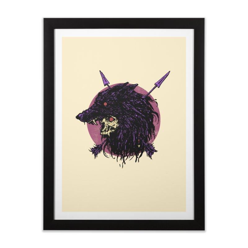 Howl Home Framed Fine Art Print by Cumix47's Artist Shop