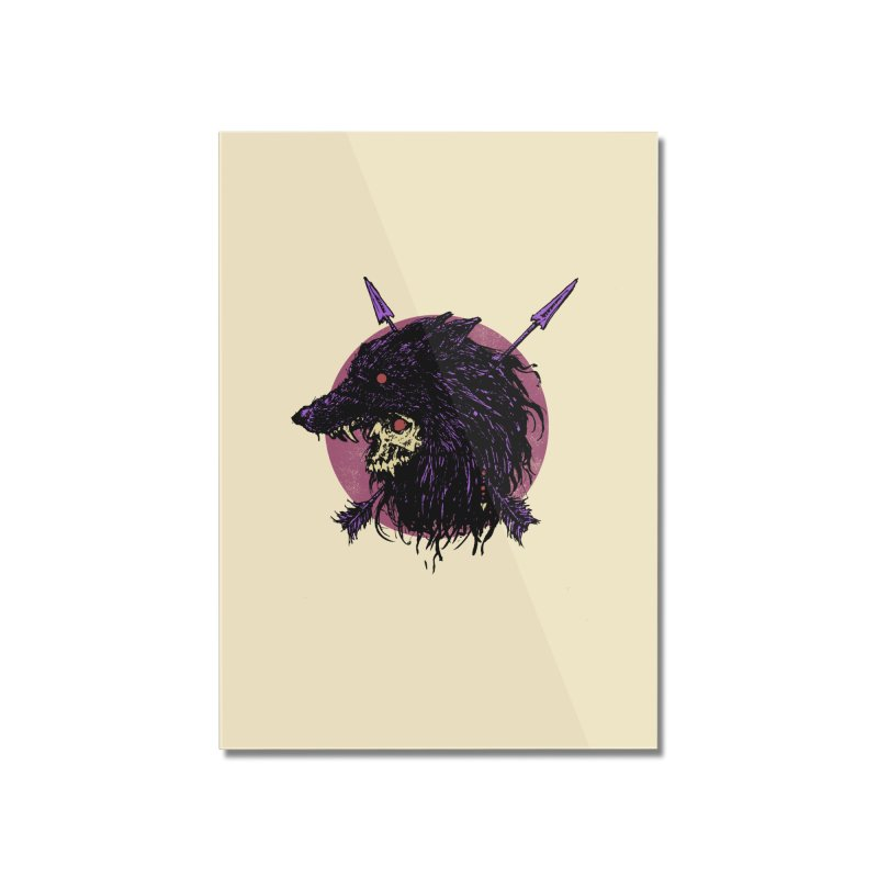Howl Home Mounted Acrylic Print by Cumix47's Artist Shop