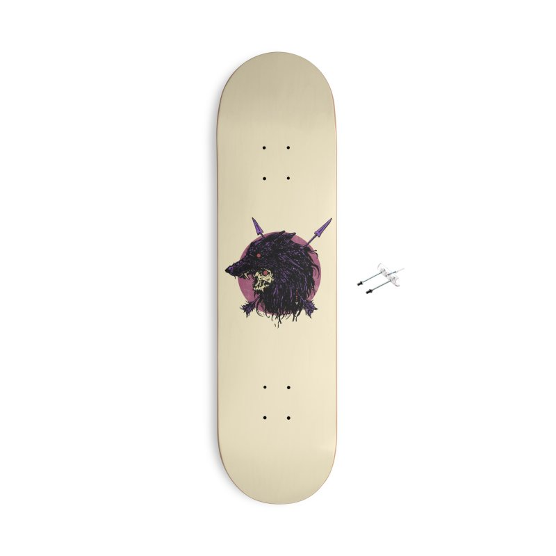 Howl Accessories With Hanging Hardware Skateboard by Cumix47's Artist Shop