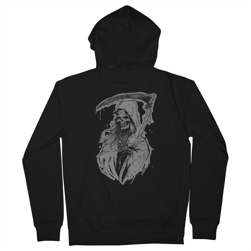 Reaper Men's French Terry Zip-Up Hoody by Cumix47's Artist Shop
