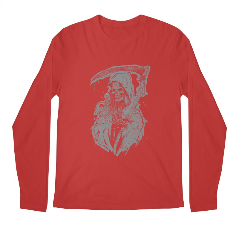 Reaper Men's Regular Longsleeve T-Shirt by Cumix47's Artist Shop