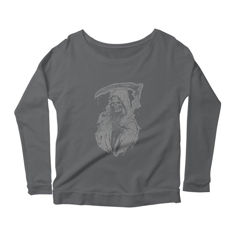 Reaper Women's Scoop Neck Longsleeve T-Shirt by Cumix47's Artist Shop