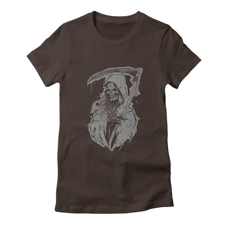 Reaper Women's Fitted T-Shirt by Cumix47's Artist Shop