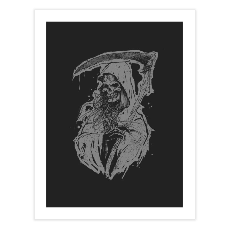 Reaper Home Fine Art Print by Cumix47's Artist Shop