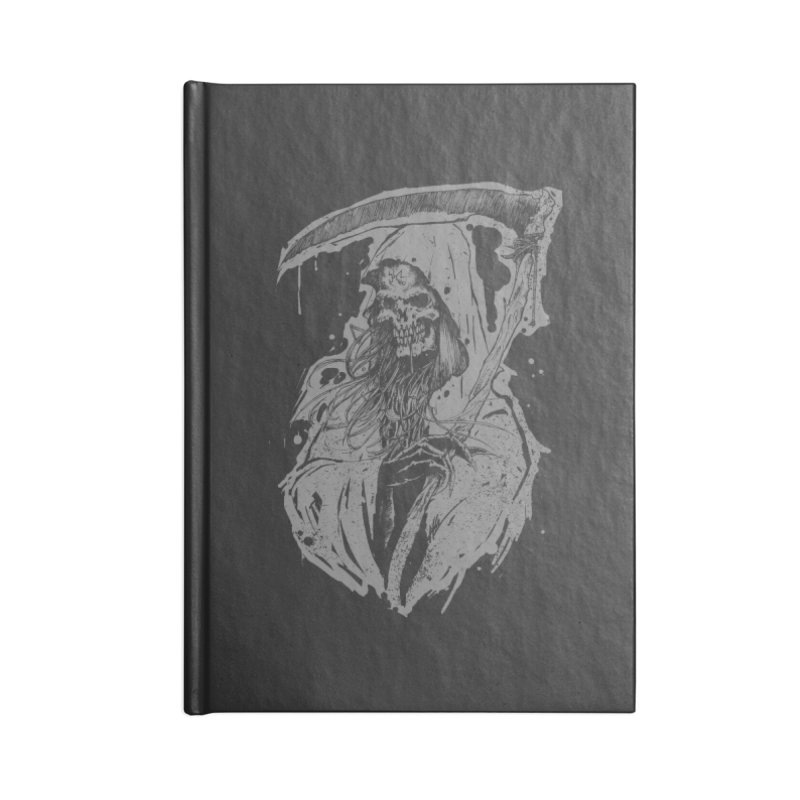 Reaper Accessories Blank Journal Notebook by Cumix47's Artist Shop