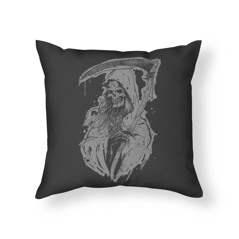 Reaper Home Throw Pillow by Cumix47's Artist Shop