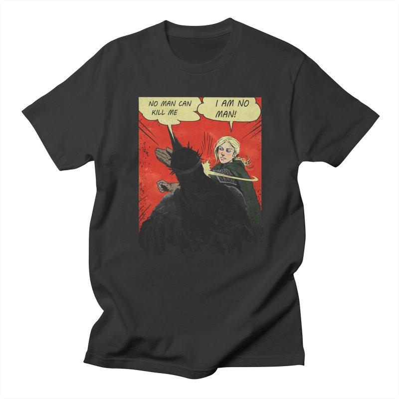 I Am No Man Men's T-Shirt by Cumix47's Artist Shop