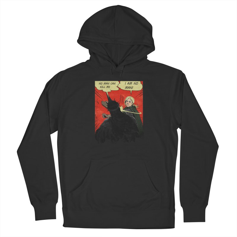 I Am No Man Men's French Terry Pullover Hoody by Cumix47's Artist Shop