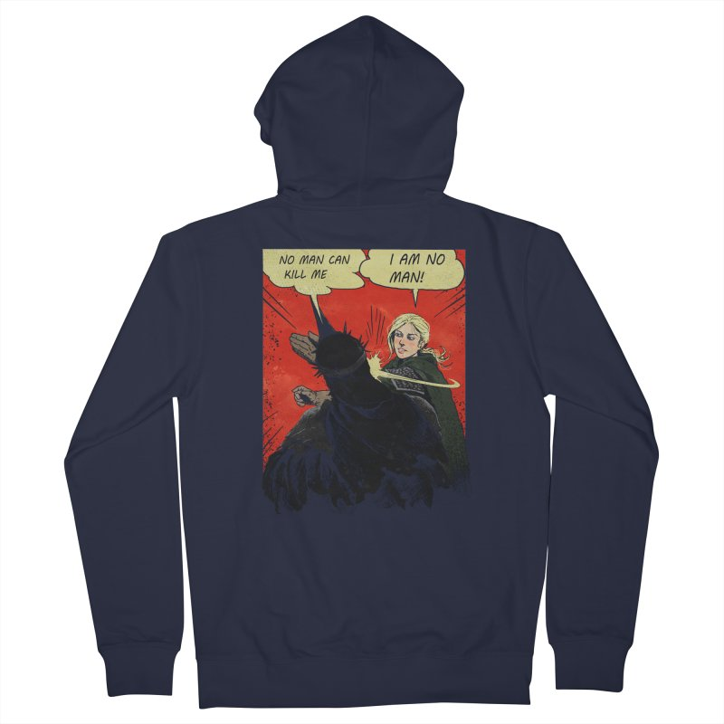 I Am No Man Women's Zip-Up Hoody by Cumix47's Artist Shop