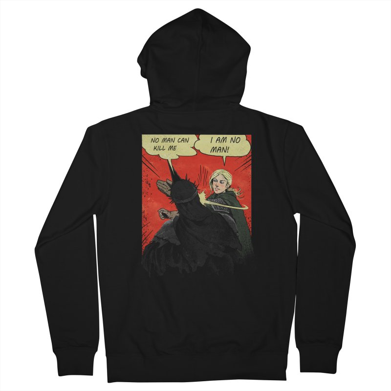 I Am No Man Men's Zip-Up Hoody by Cumix47's Artist Shop