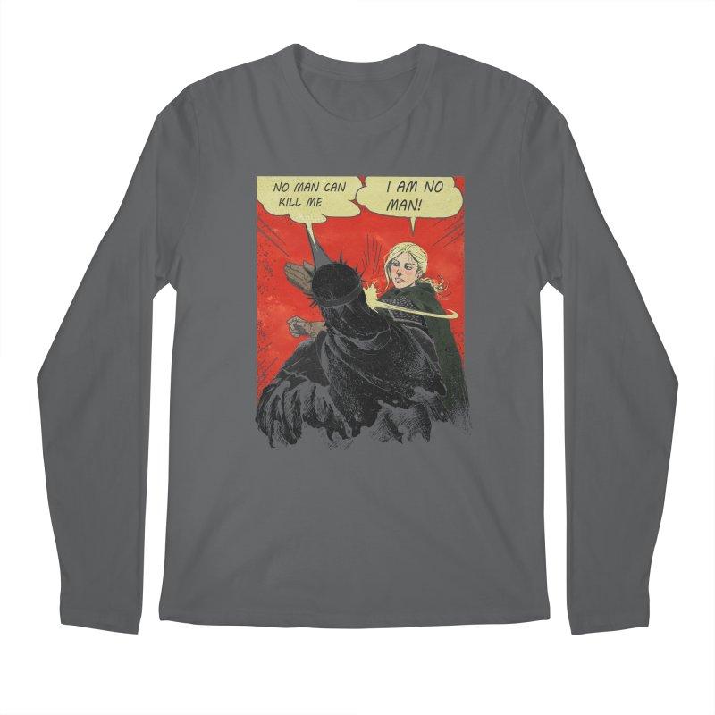 I Am No Man Men's Regular Longsleeve T-Shirt by Cumix47's Artist Shop