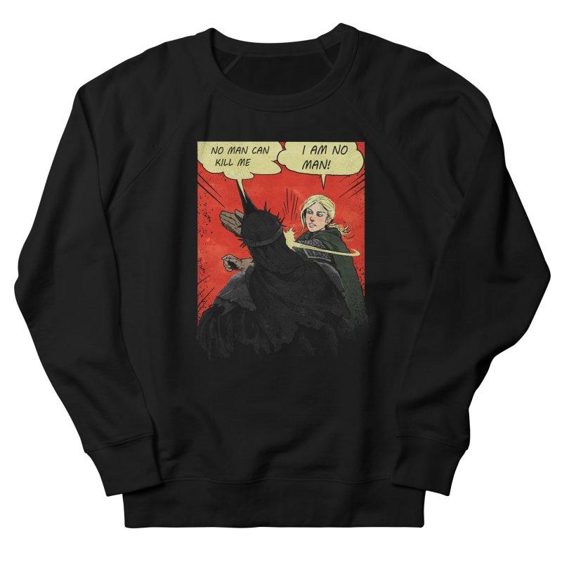 I Am No Man Men's French Terry Sweatshirt by Cumix47's Artist Shop