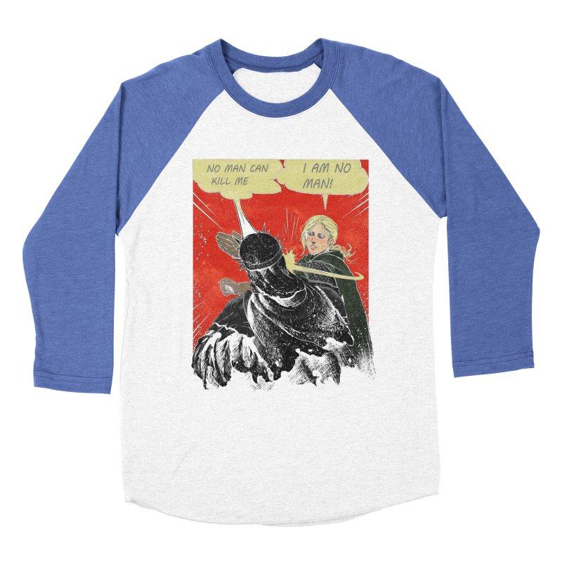 I Am No Man Women's Baseball Triblend Longsleeve T-Shirt by Cumix47's Artist Shop