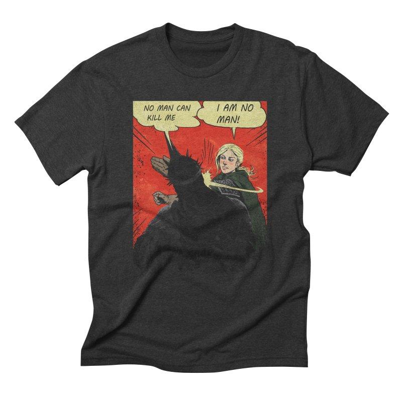I Am No Man Men's Triblend T-shirt by Cumix47's Artist Shop