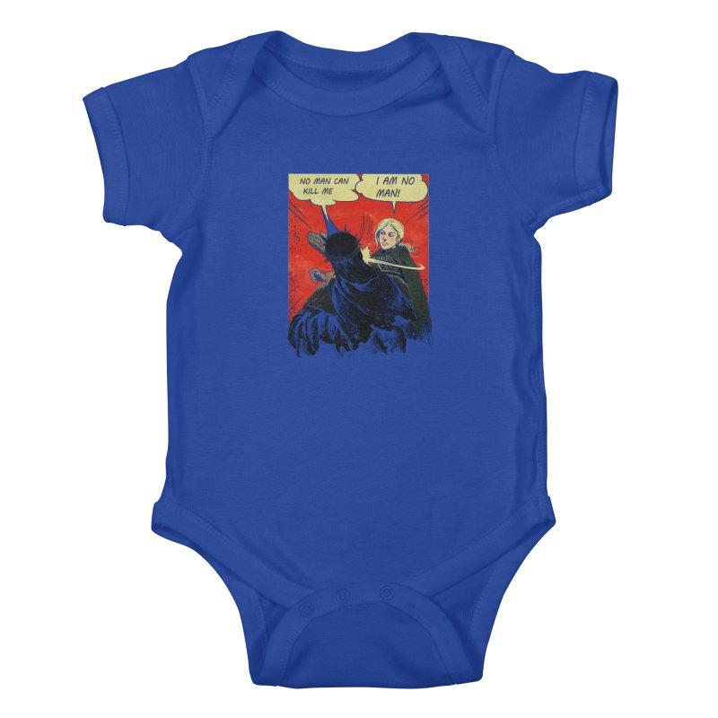 I Am No Man Kids Baby Bodysuit by Cumix47's Artist Shop