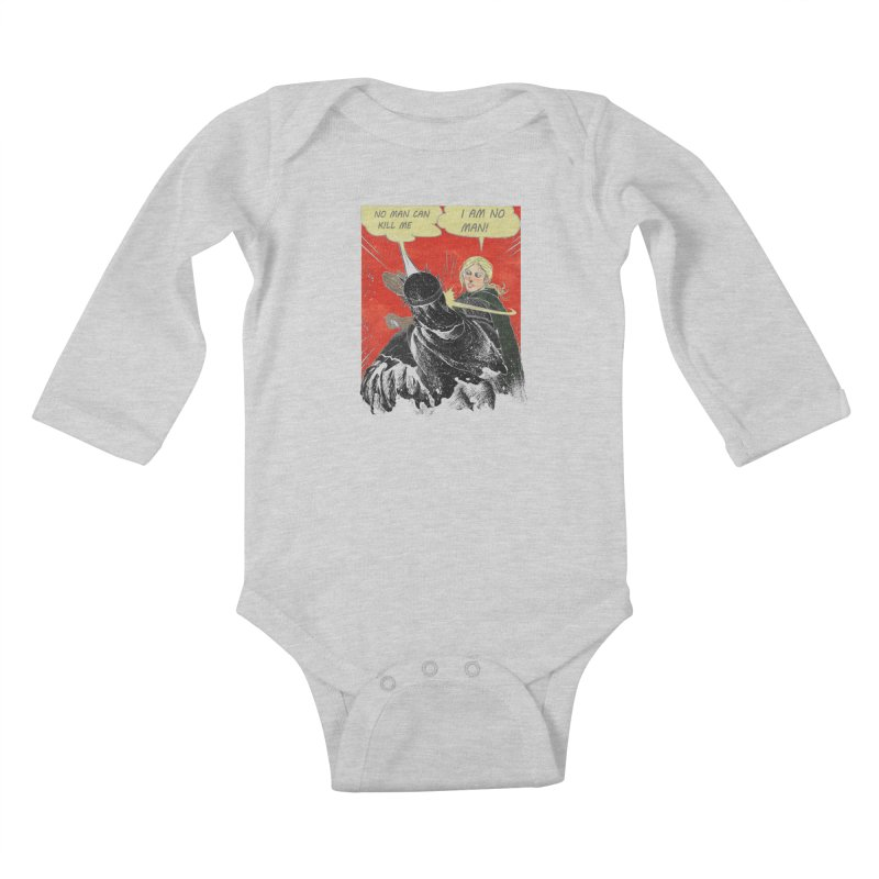 I Am No Man Kids Baby Longsleeve Bodysuit by Cumix47's Artist Shop