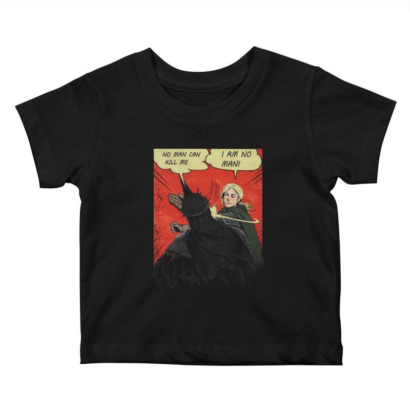 I Am No Man Kids Baby T-Shirt by Cumix47's Artist Shop