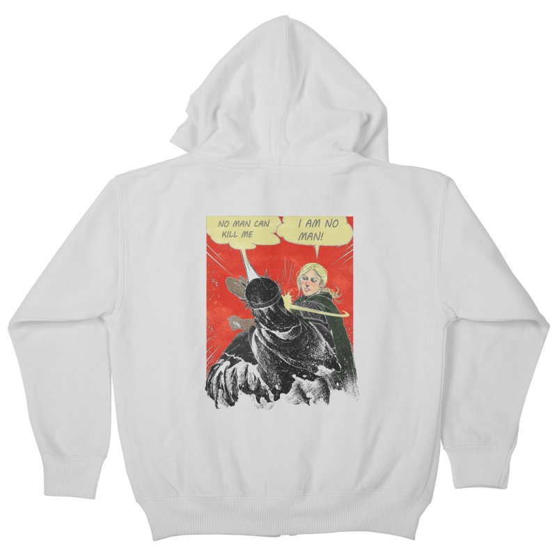I Am No Man Kids Zip-Up Hoody by Cumix47's Artist Shop