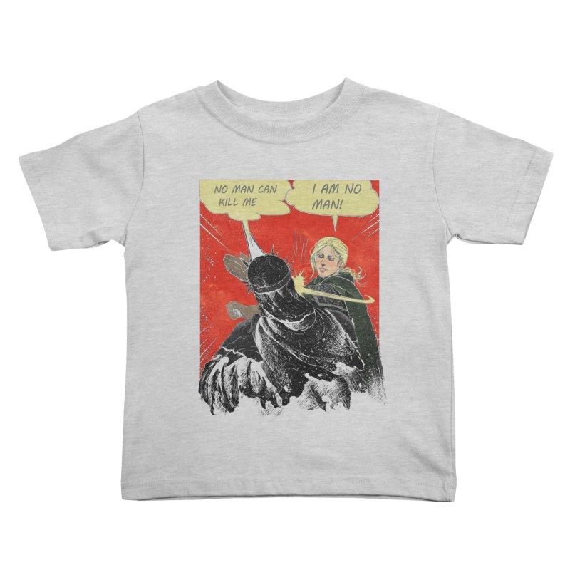 I Am No Man Kids Toddler T-Shirt by Cumix47's Artist Shop