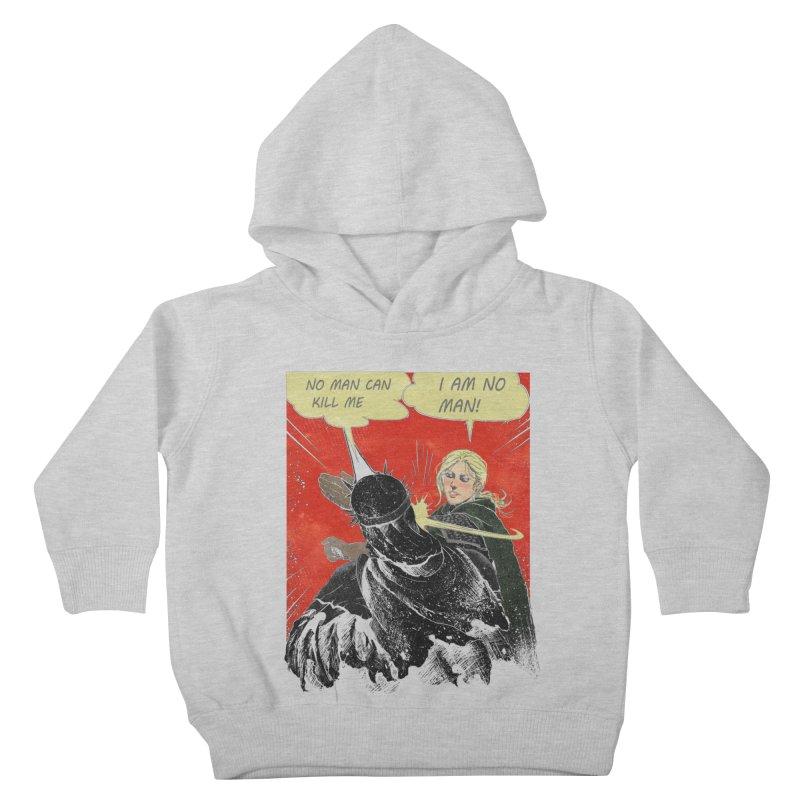 I Am No Man Kids Toddler Pullover Hoody by Cumix47's Artist Shop