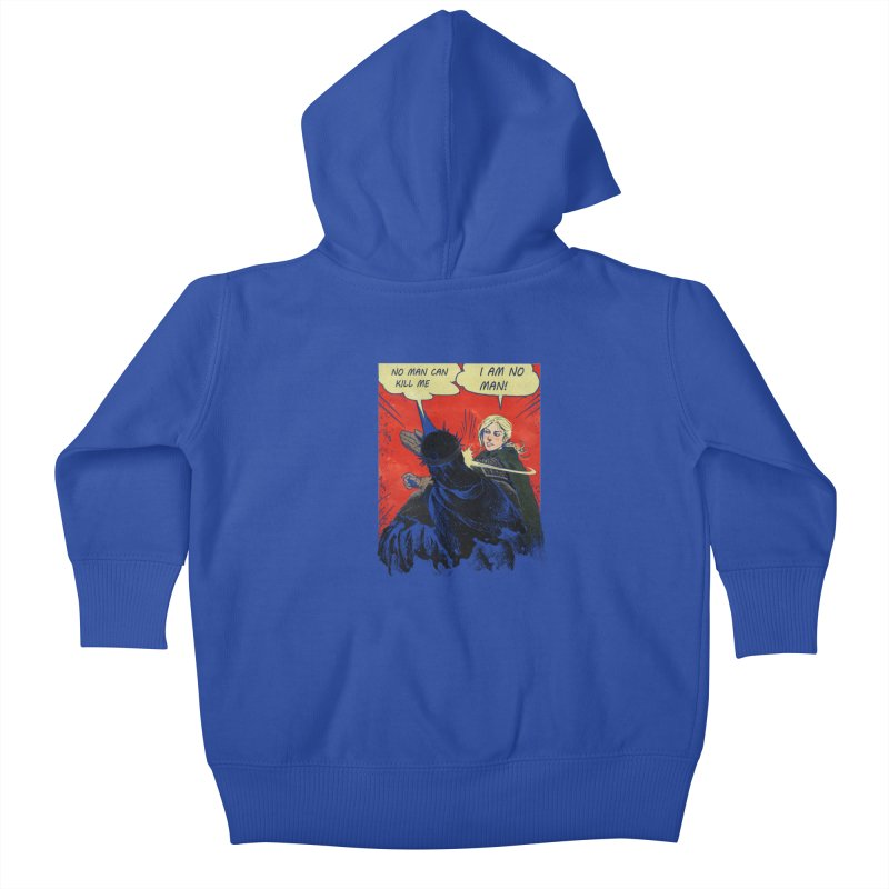 I Am No Man Kids Baby Zip-Up Hoody by Cumix47's Artist Shop