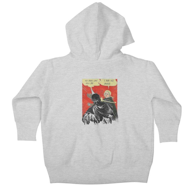 I Am No Man Kids Baby Zip-Up Hoody by Cumix47's Artist Shop