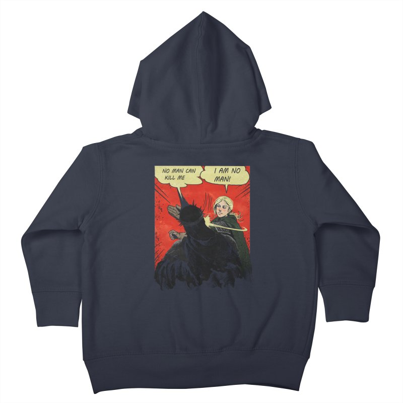 I Am No Man Kids Toddler Zip-Up Hoody by Cumix47's Artist Shop