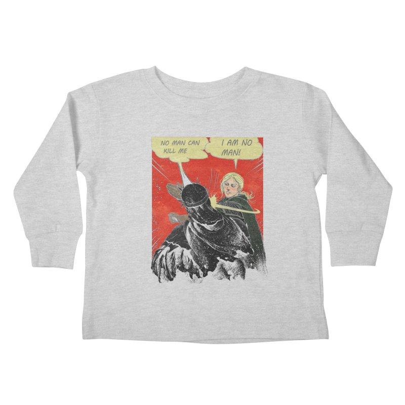 I Am No Man Kids Toddler Longsleeve T-Shirt by Cumix47's Artist Shop