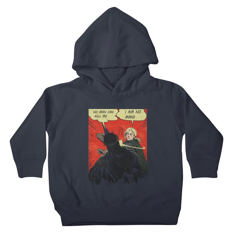 I Am No Man Kids Toddler Pullover Hoody by Cumix47's Artist Shop