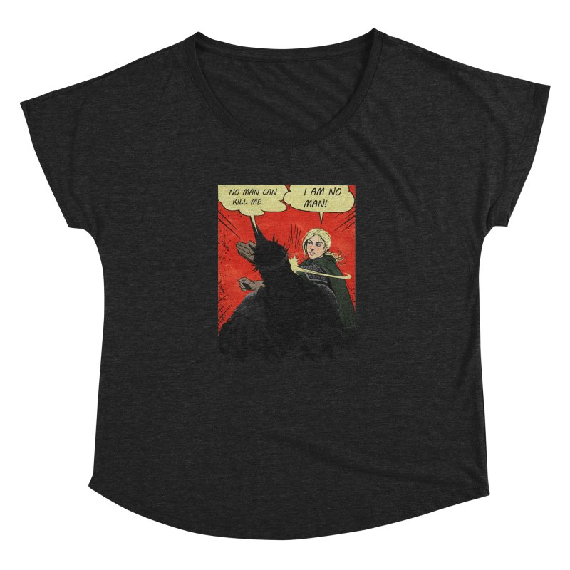 I Am No Man in Women's Dolman Heather Onyx by Cumix47's Artist Shop