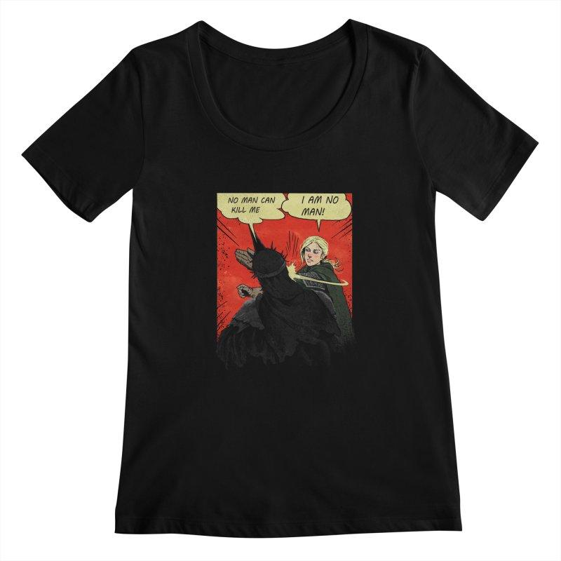 I Am No Man Women's Scoopneck by Cumix47's Artist Shop